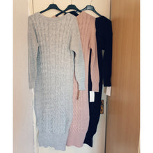 Warm Knit Long Jumper - Diff colours