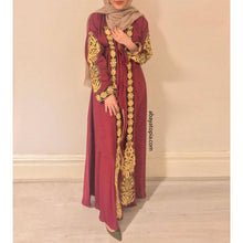 Aslihan Closed Cherry Abaya