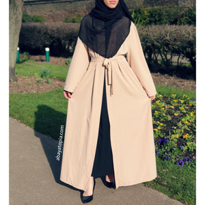 Basics Open Abaya - Diff Colours