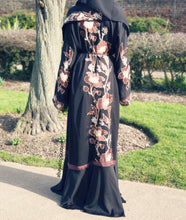 Anatolia Embroidery Luxury Black Abaya