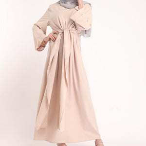 Tie Wrap Abaya - Diff colours
