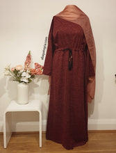 Warm Dress with Inner Belt and Button Detail - Diff Colours