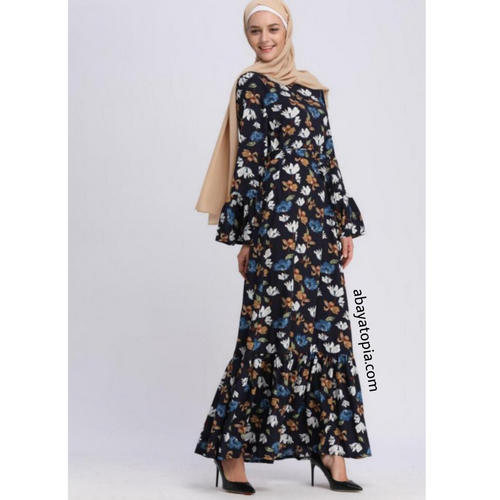 Savera Navy Maxi Dress