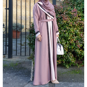 Blushing Malt Closed Abaya