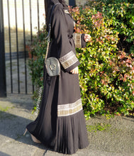 Sultana Pleated Abaya