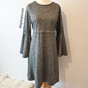 Bell Sleeved Long Top - Diff colours