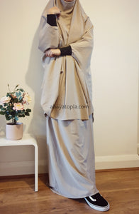 Jilbab Two-Piece - Diff Colours