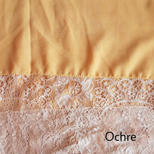 Chiffon with Lace on 2 sides Hijab
