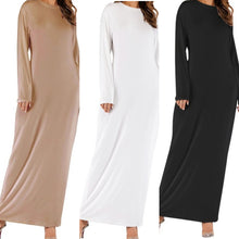Basic Stretchy Slim Fitting Dress - Diff Colours