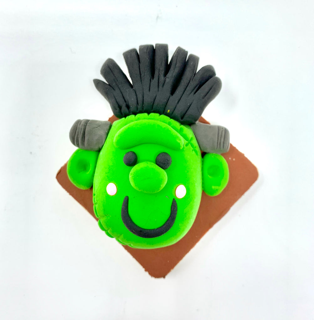Make Frankenstein's Monster with Air Dry Clay