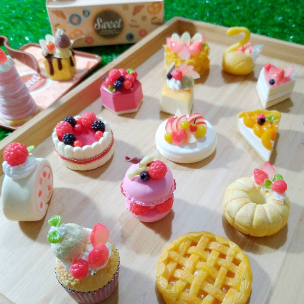 [June 28 - July 2] 『Miniature Dessert Party - French Clay Desserts Making 』 (Onsite+Online - 1 week)