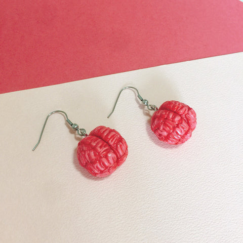 Brainz Air-Dry Clay Earrings