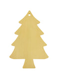 Christmas Tree Shaped Ornament Pack of 5