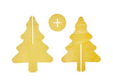 3D Christmas Tree Pack of 5