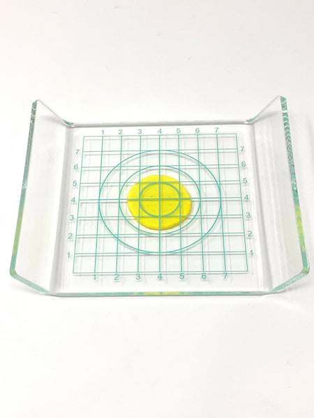 Clay Circle Press (Transparent Measuring Board)