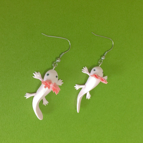 Axolotls Clay Earrings