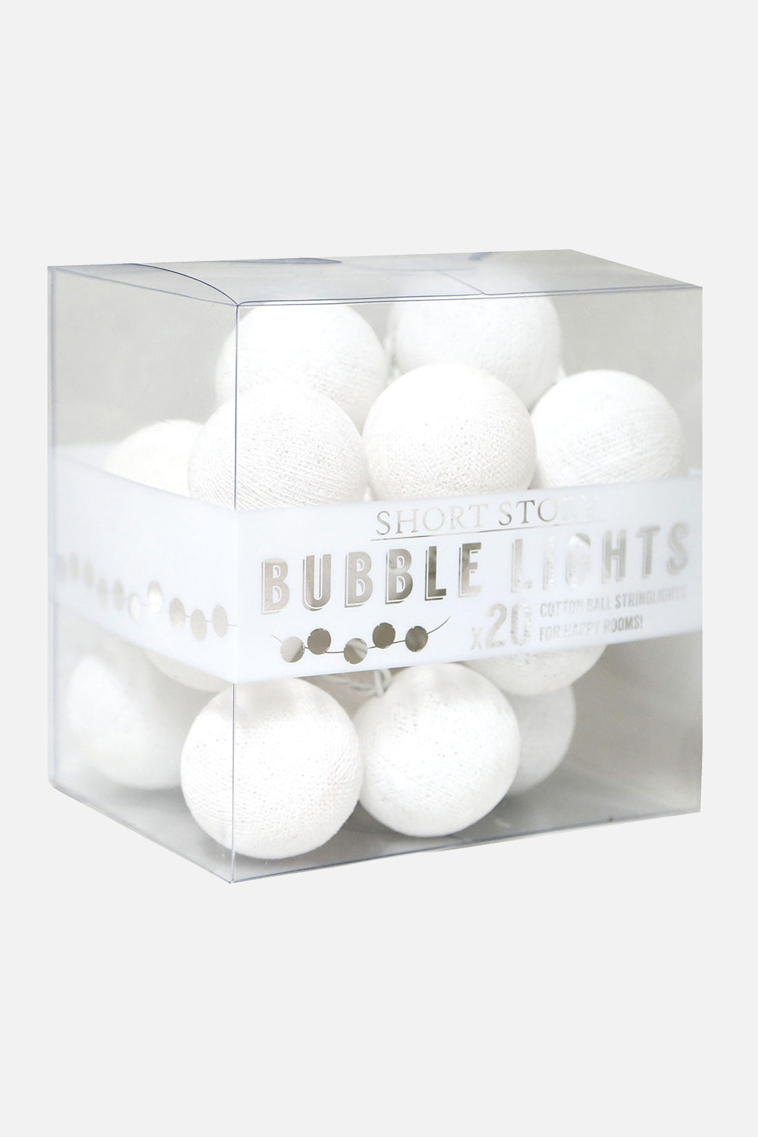 snowball string of 20 lights