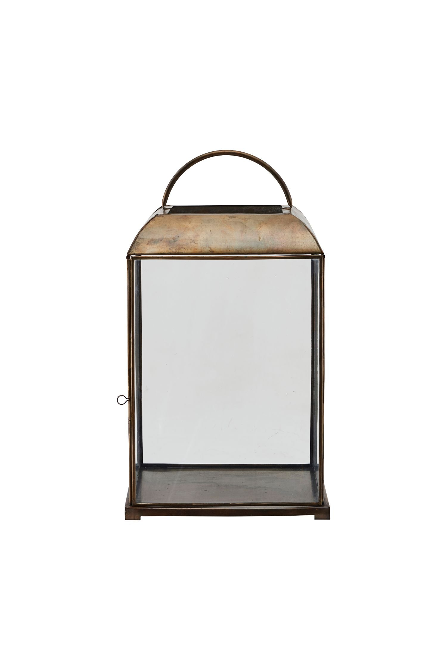 mandurai lantern antique brass medium