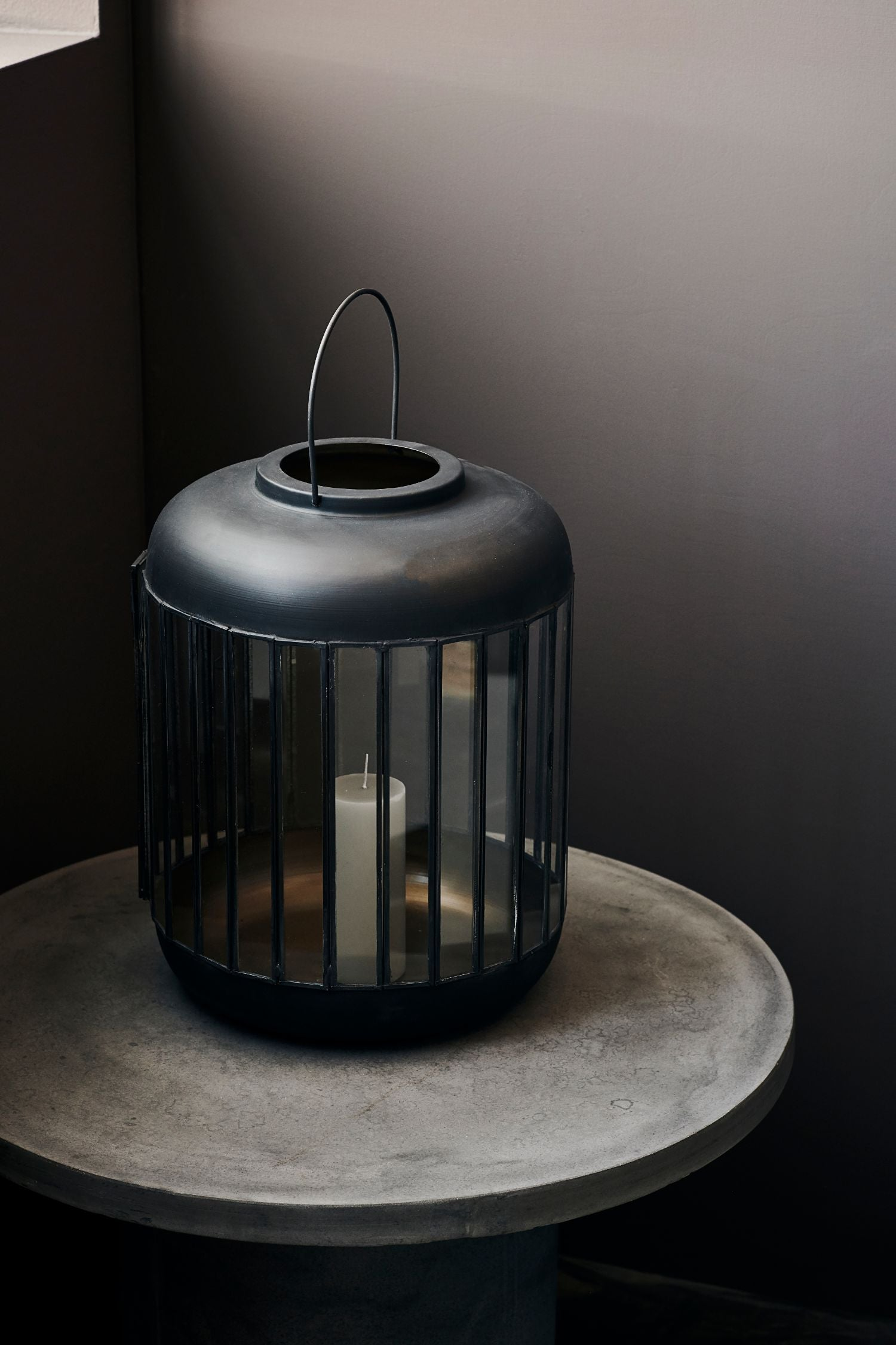pamal lantern antique black 42cm