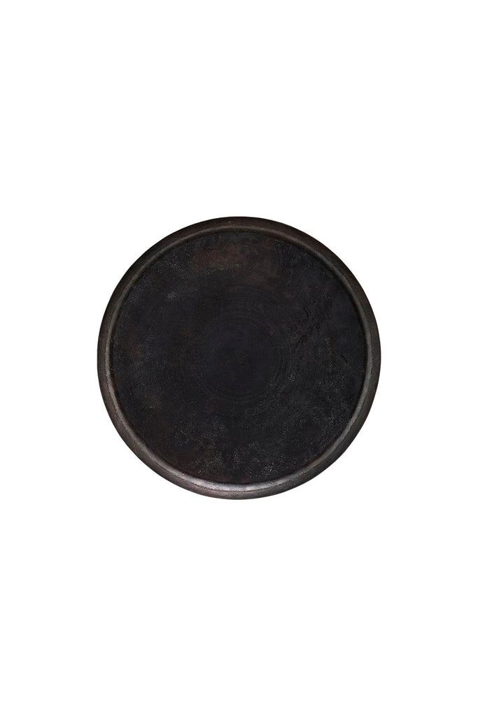 jhansi tray antique black