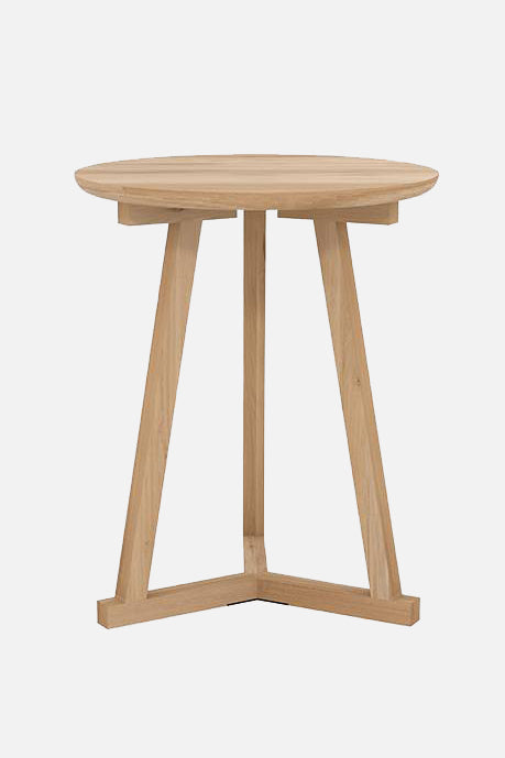 henley side table oak