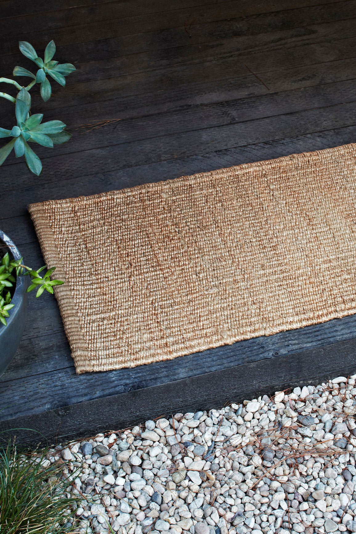 nest entrance mat natural