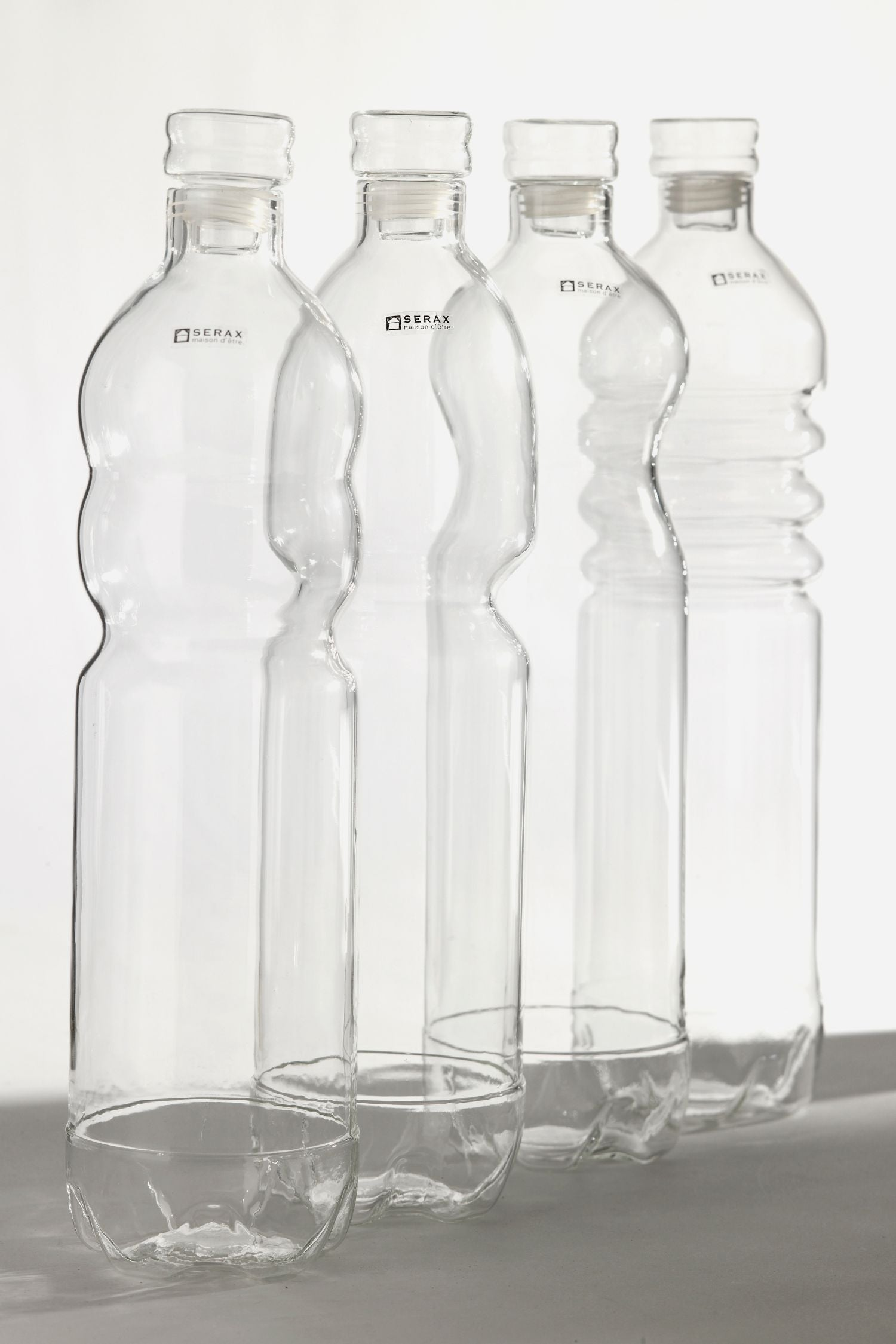 glass water bottle 1.5L