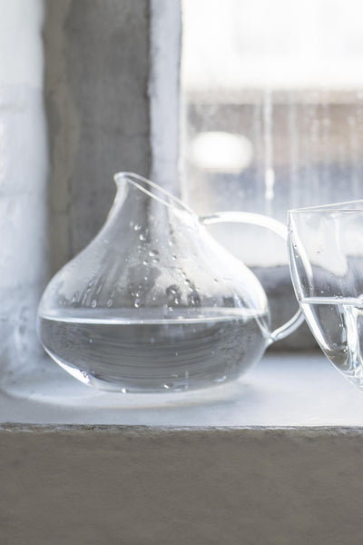 glass carafe 3°