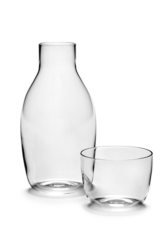 carafe + glass