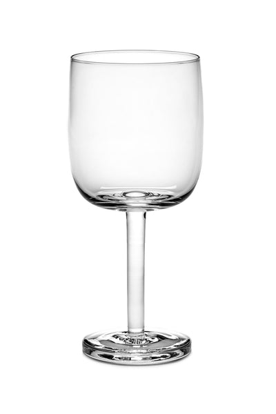 base red wine glass straight