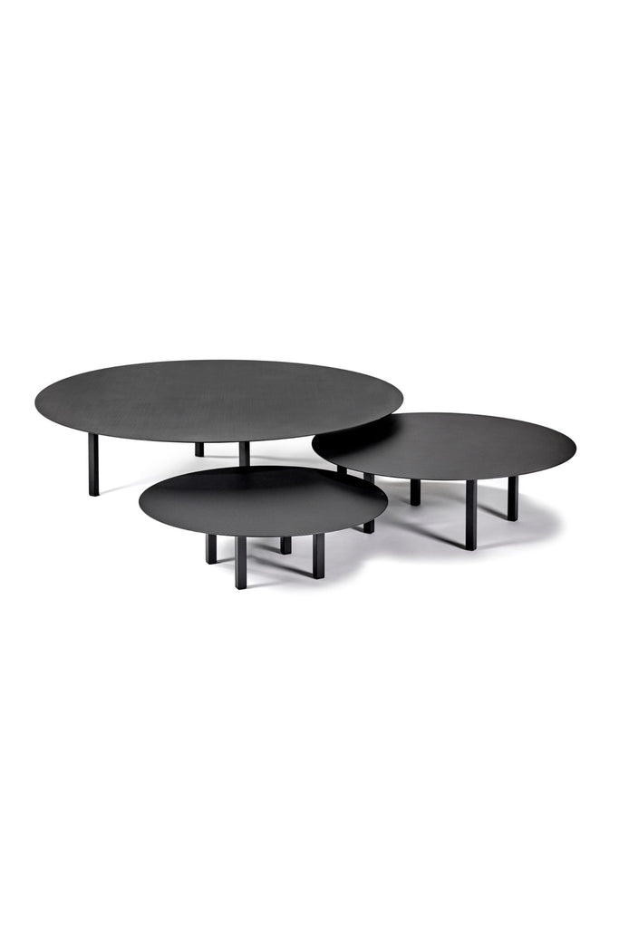 black steel coffee table medium