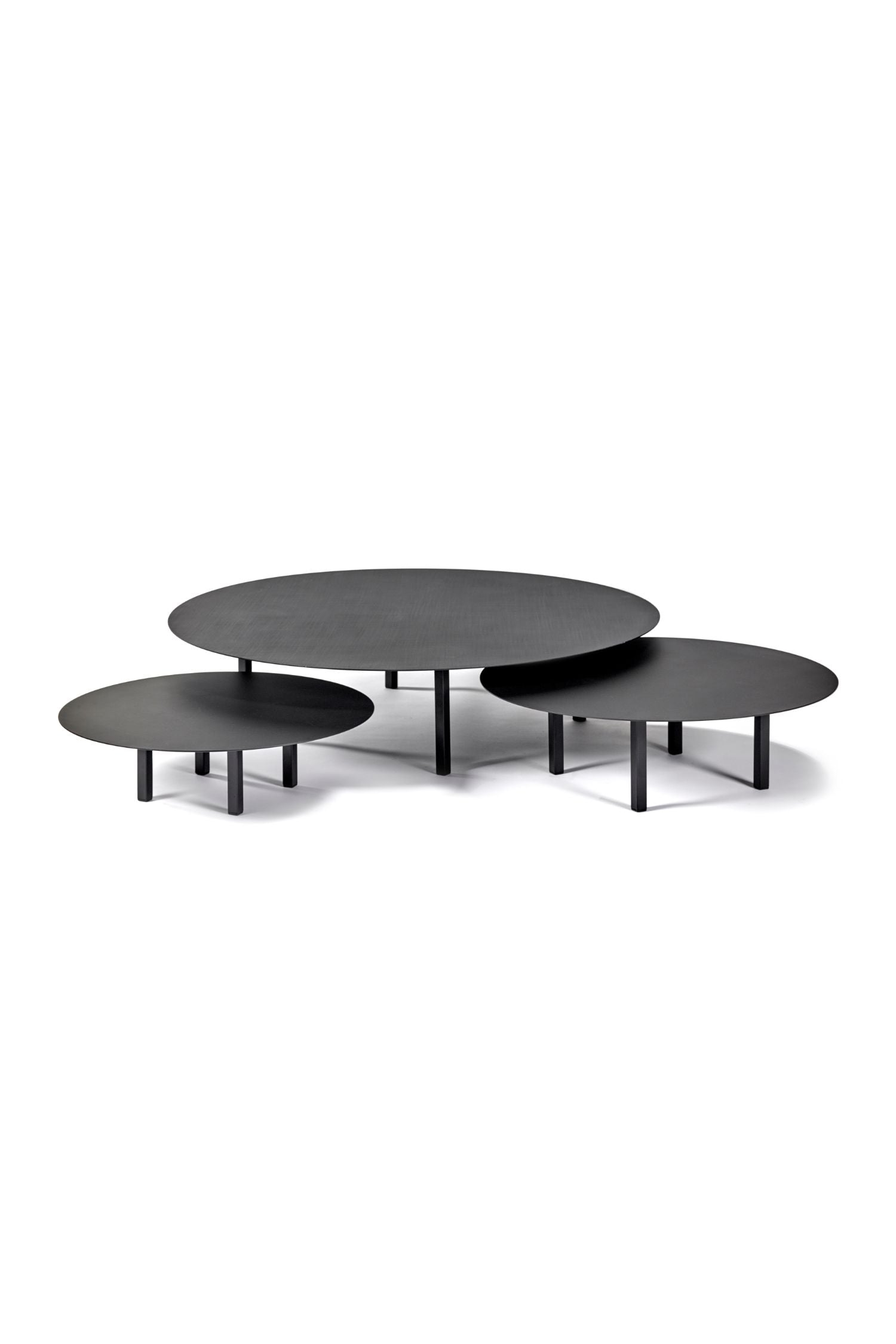 black steel coffee table small