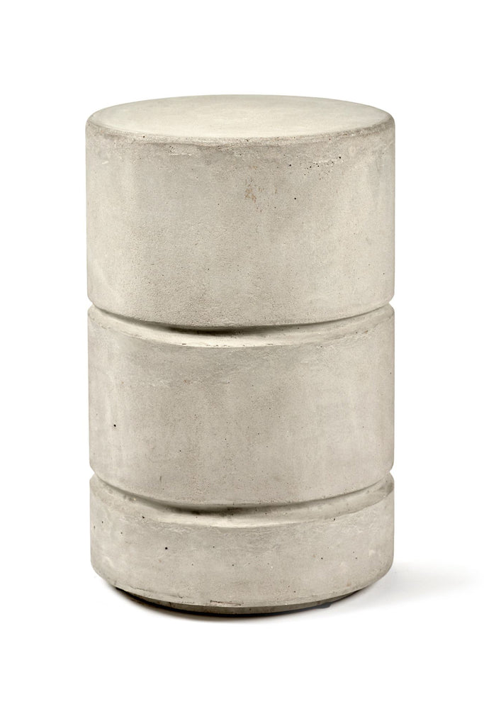marie concrete side table/stool