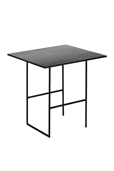 cico side table black square