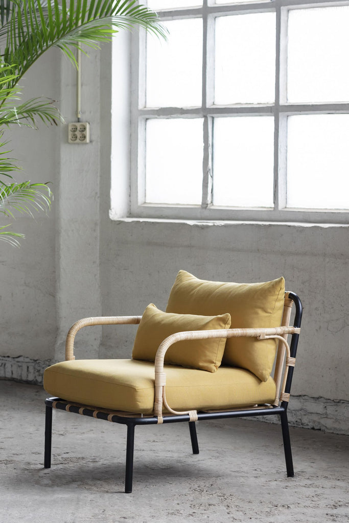 capizzi lounge chair ochre
