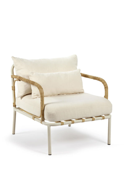 capizzi lounge chair off white