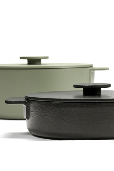 surface pot 1.7L cast iron black