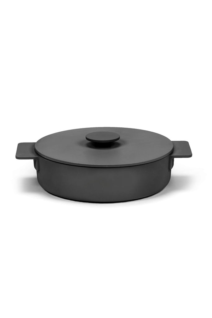 surface pot cast iron 2.6L black