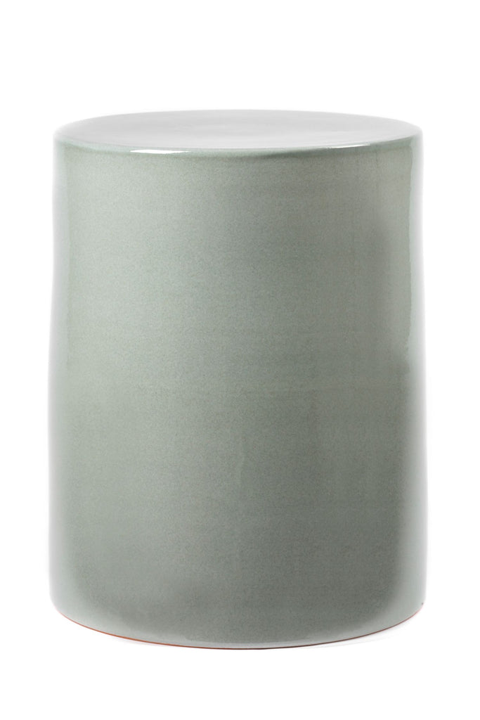 ceramic table greyish green