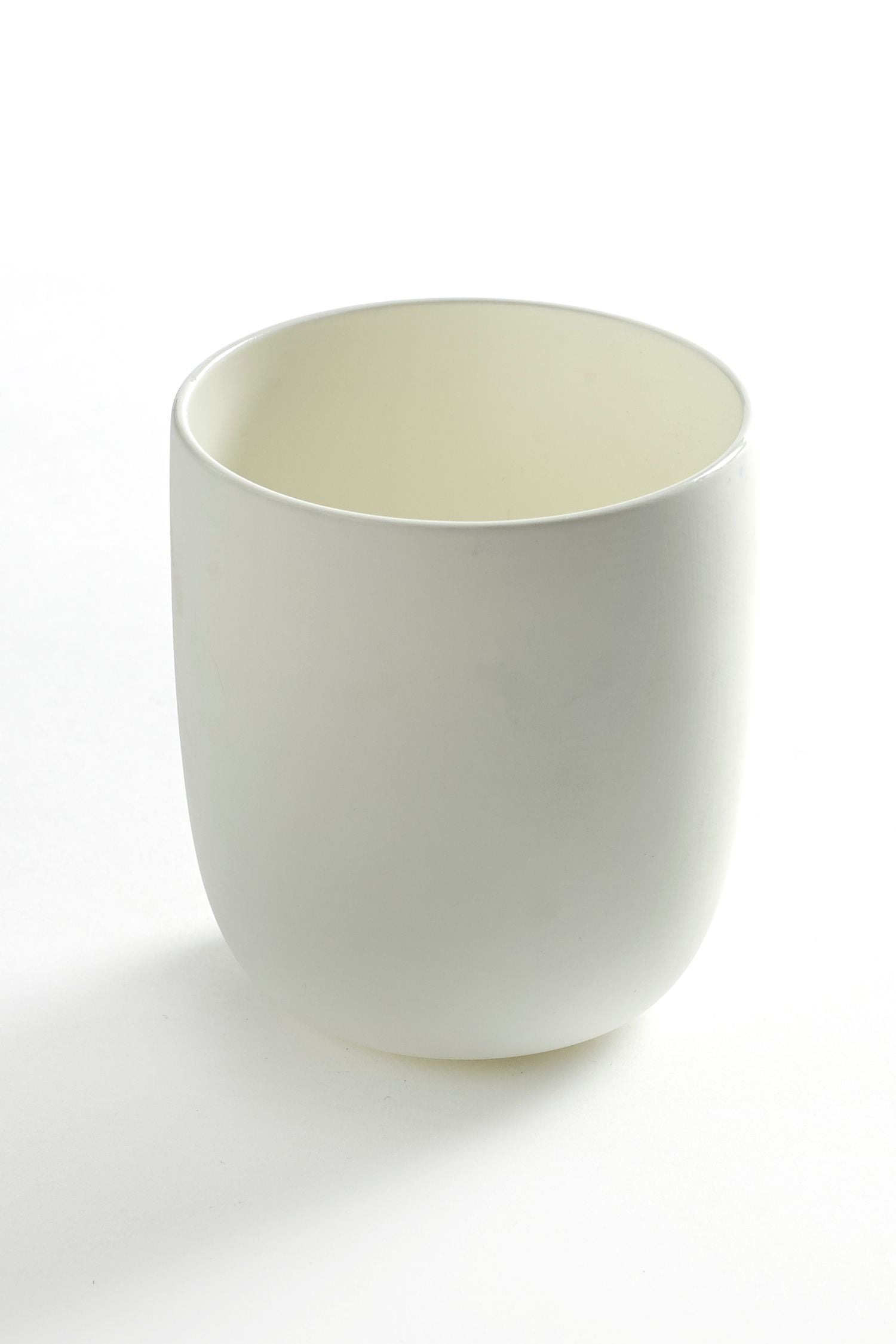 tea tumbler matt glaze