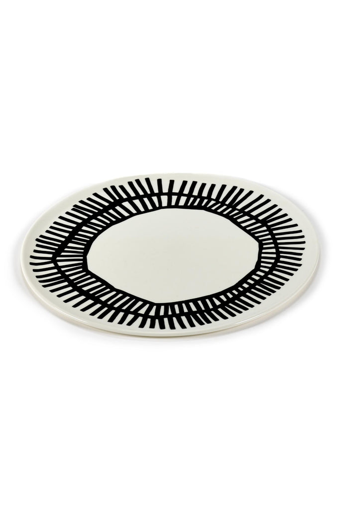 nomade plate white