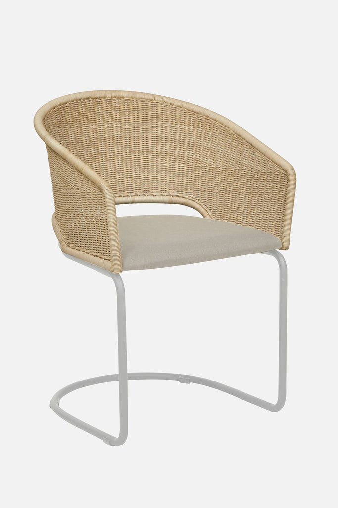 hugo cantilever dining chair