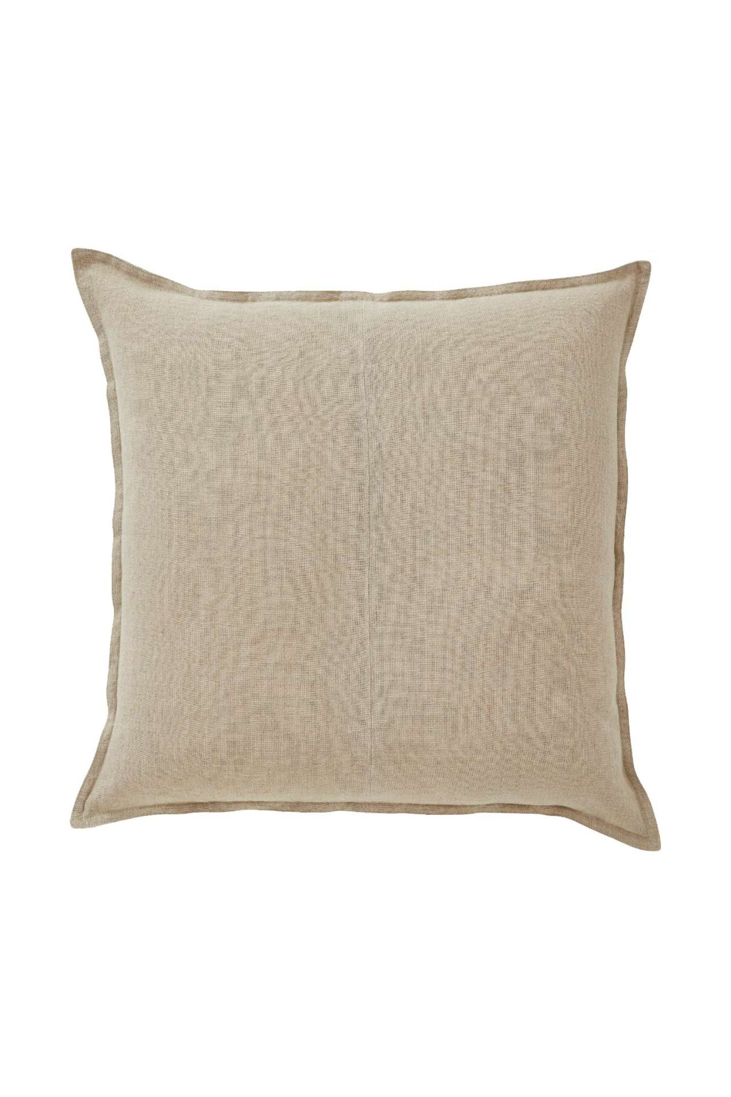 linum cushion natural large