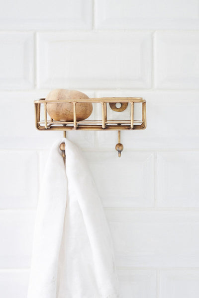 compass soap caddy