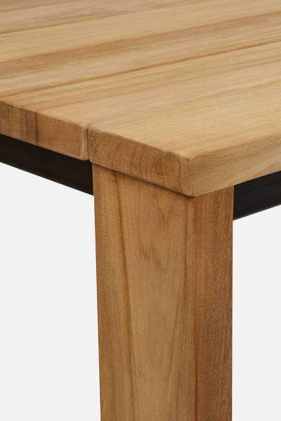 waihi teak outdoor table - 8 seater