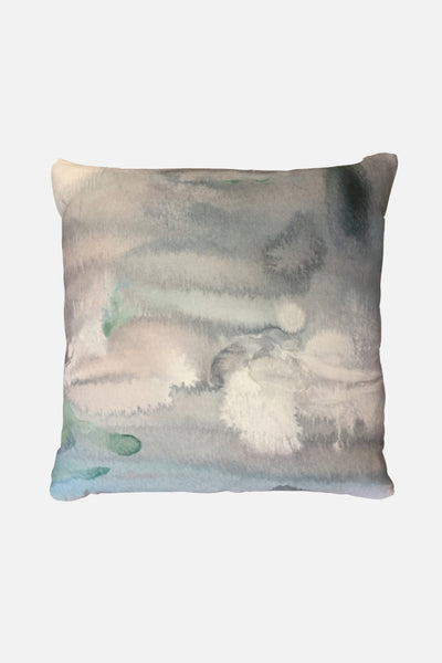glacial radiance linen cushion cover 50x50cm