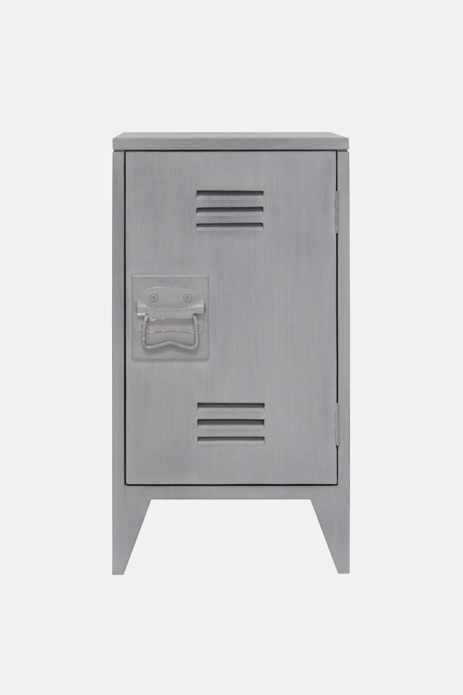 locker bedside set/2 grey