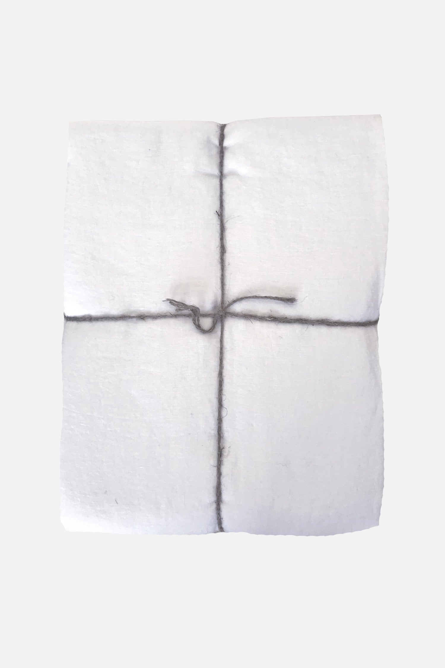 washed pure linen duvet cover white