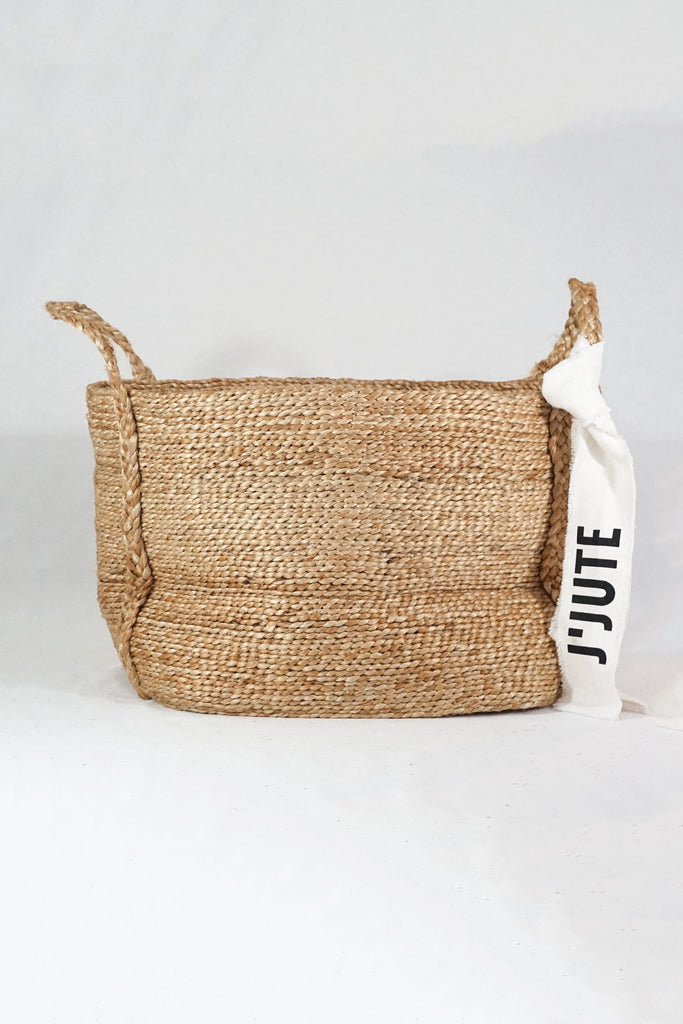 J'Jute maya large basket natural
