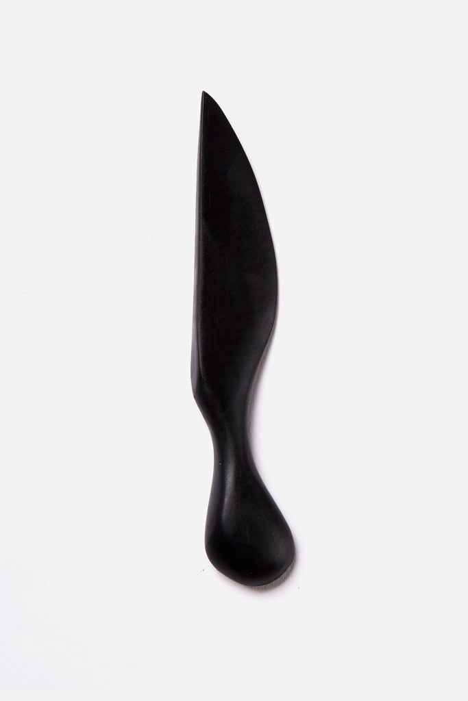 resin cheese knife black